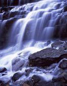 Waterfall Cascades, Glacier National Park — Stock Photo