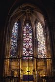 Kapelle Innere der Kathedrale von chartres — Stockfoto