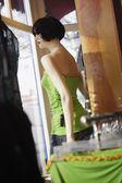 Mannequin In Store Window — ストック写真