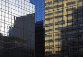 Glass Buildings And Reflections — Stock Photo