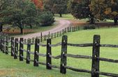 Winding Country Road — Stock Photo