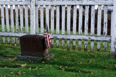 American Cemetery — Stock Photo