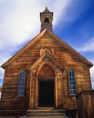 Old Church In Bodie Ghost Town, Bodie State Park, California, United States Of America — Stock Photo