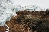 A Glacial Mountain — Stock Photo