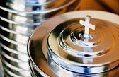 Communion Trays — Stock Photo