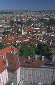 Vista aérea de praga, república checa — Foto Stock