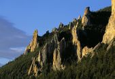 Meeteetse Spires, Beartooth Mountains — Stock Photo