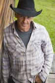Portrait Of A Cowboy — Stock Photo