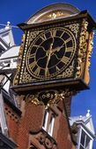 The Guildhall Projecting Clock — Stock Photo