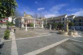 The Plaza Mayor During Semana Santa — Stock Photo