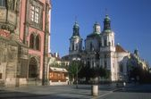Church Of Saint Nicholas, Old Town Square (Staromestske Namesti) Prague, Czech Republic — Stock Photo
