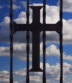 A Cross Symbol — Stock Photo