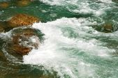 Rapids In River — 图库照片