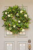 A Christmas Wreath — Stock Photo