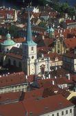 Aerial View Of Mala Strana Prague Czech Republic — Stock Photo