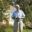 Senior Gardener — Stock Photo #31707897