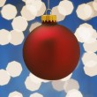 Red Christmas Ornament — Stock Photo #31708291