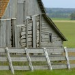Stock Photo: Old Weathered Barn