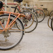 Stockfoto: Bicycles In Row