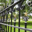 Fence With Gold Stars — Stock Photo #31709651