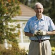 Portrait Of Elderly Gardener — Stock Photo #31709681