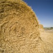 Stock Photo: Bale Of Hay