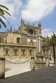 The Cathedral, Seville, Spain — Stock Photo