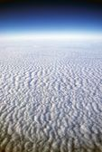 High Altitude View Of Clouds — Stock Photo