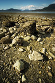 Exposed Sea Bed From Receding Tide — Stock Photo