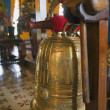 Stock Photo: Bell At Buddhist Temple