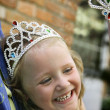 Stock Photo: Girl In A Tiara