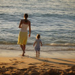 Mother And Daughter At The Beach — Stock Photo #31711765