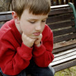 Stock Photo: Boy Thinking