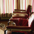 Stock Photo: Barber Shop Chairs