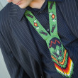 Foto Stock: MAnd Native AmericNecklace