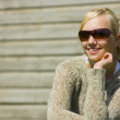 Portrait Of A Girl With Sunglasses — Stock Photo #31712813