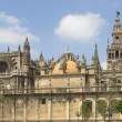 Stock Photo: Cathedral And Giralda, Seville, Spain