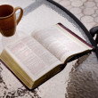 Stock Photo: Bible On Table