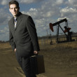 Oil Industry Professional — Stock Photo
