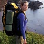 Female Hiker — Stock Photo
