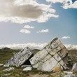 Foto Stock: Large Rocks