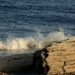 Foto Stock: Waves Crashing On Shore