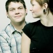 Stock Photo: Portrait Of Couple