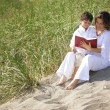 Mother And Son Reading Bible — Stock Photo #31715795
