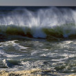 Stock Photo: Waves Crashing Along Coast