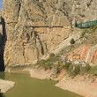 Camino Del Rey In Spain — Stock Photo