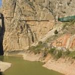Camino Del Rey In Spain — Stock Photo
