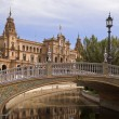 Photo: PlazDe España, Seville, Spain