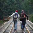 Hikers In British Columbia — Stock Photo #31717457