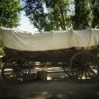 Stock Photo: Large Covered Wagon